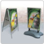 Poster Stand Displays 6oo Series